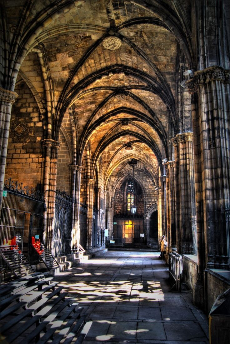 The Cathedral Of The Holy Cross And Saint Eulalia Also Known As Barcelona Cathedral Is The Gothic Cathedral And S Cool Places To Visit Cathedral Spain Travel
