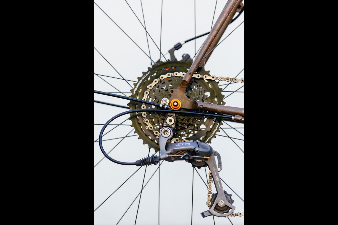 Golden Saddle Rides Scott S Stripped And Raw Crust Bikes Romanceur