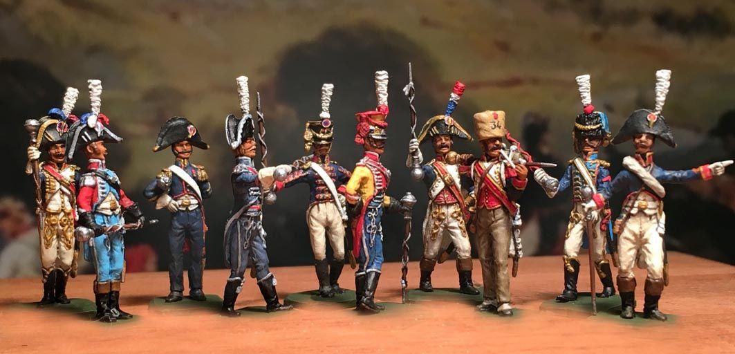 French Tambour Majors