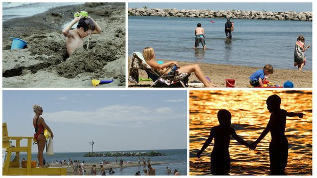 Families with younger kids appreciate beaches with bathhouses, lifeguards, calm water and a playground. Ohio's Lake Erie coast has many to choose from.