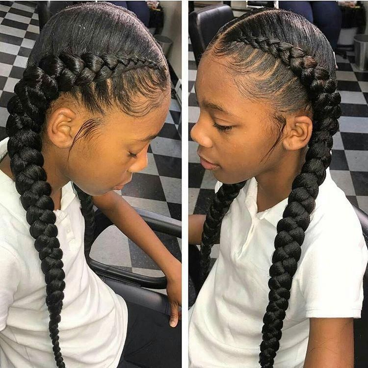 11 Best French Braid Hairstyle Black Hair Exemple 34 Populer Braidedhairstyles Braided H In 2020 Two Braid Hairstyles Braided Hairstyles Braids For Black Hair