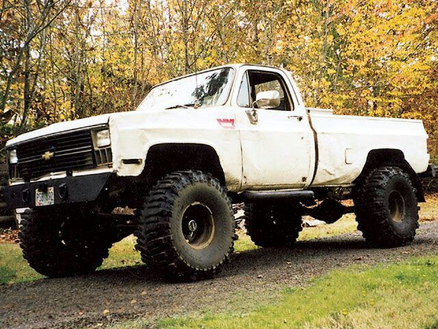 1981 Chevy Truck Lifted