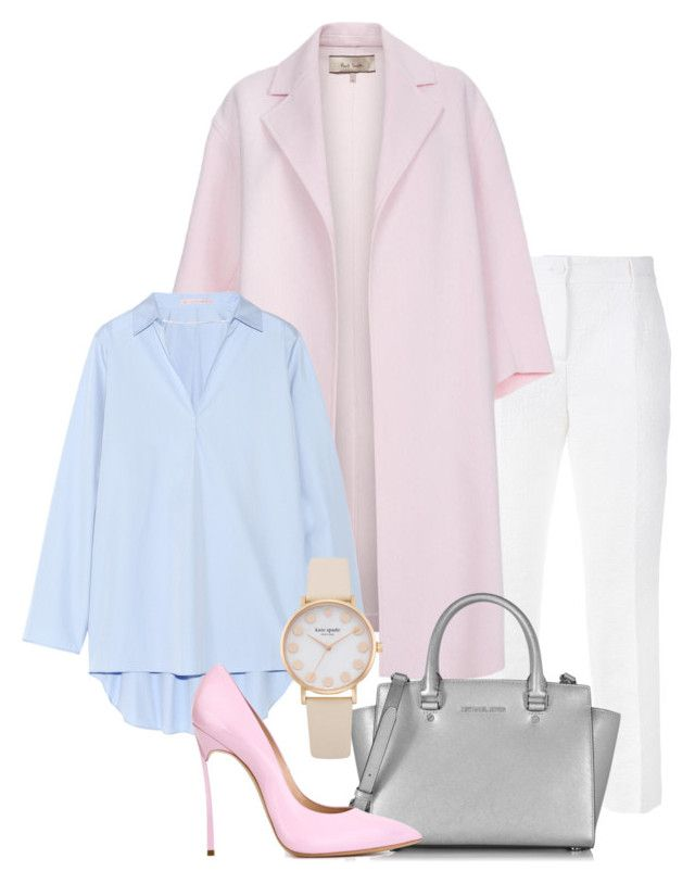 """Pastel Spring"" by ekanova17 on Polyvore featuring Dolce&Gabbana, Paul Smith, Acne Studios, Michael Kors and Casadei"