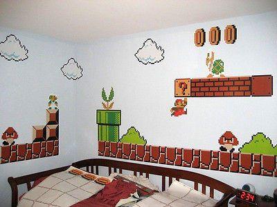 Xxl Nintendo Wandstick Super Mario Bros Wanddeko Wandtattoo De