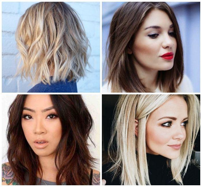 1001 Moderne Ideen Fur Mittellange Frisuren Fur Frauen Kurzhaarfrisuren Frisuren Frauen Mittellang Haarschnitt Mittel
