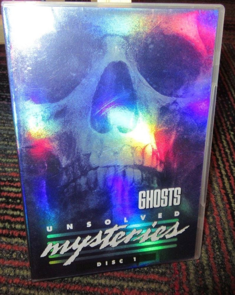 UNSOLVED MYSTERIES: GHOSTS DISC 1 ONLY DVD, 9 EPISODES OF