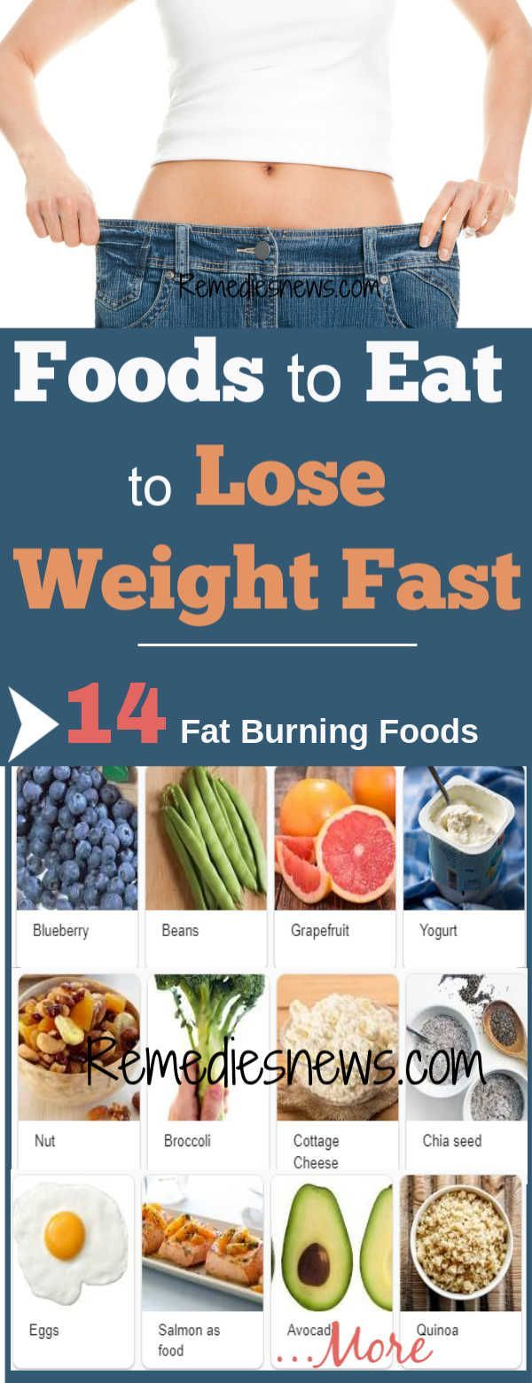 what type of food can i eat to lose weight