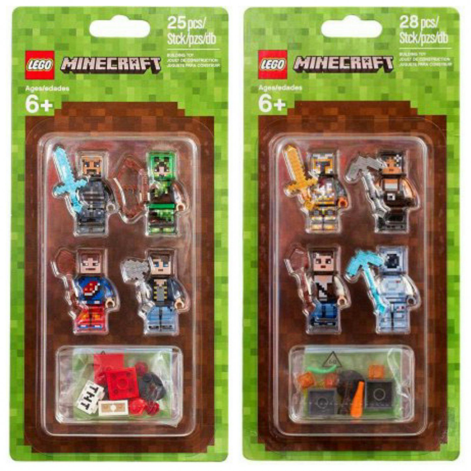 LEGO MINECRAFT SKIN PACK 1 853609 NEW//BOXED//SEALED