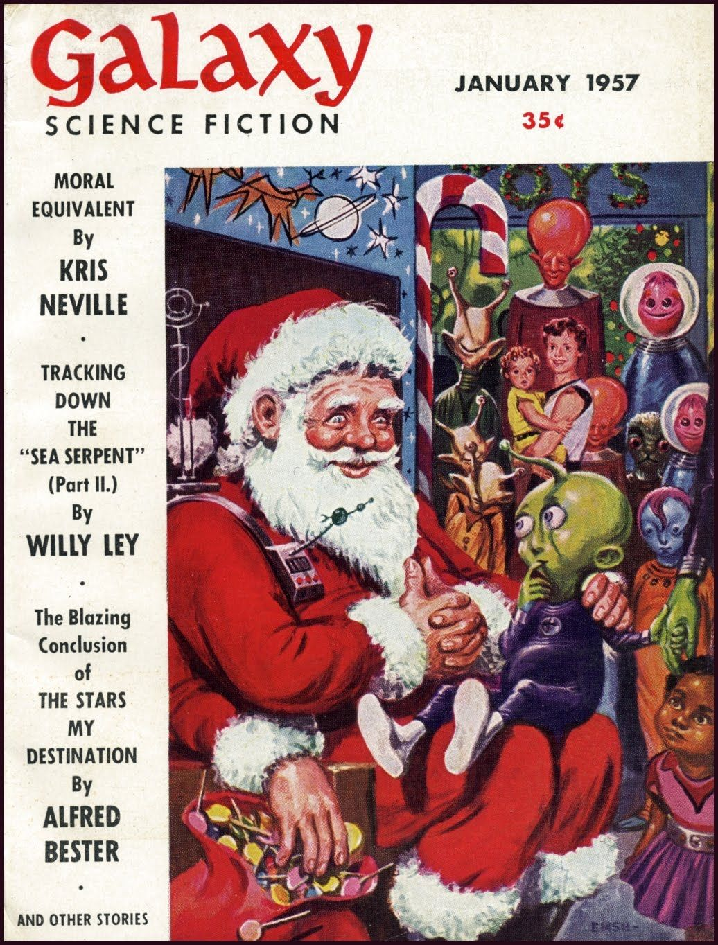 Pin By Blitzbuggy On When Christmas Comes To Town In 2020 Christmas Art Cover Art Science Fiction Art