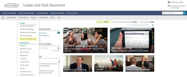 Leader & Clerk Resources: Manage Home & Visiting Teaching