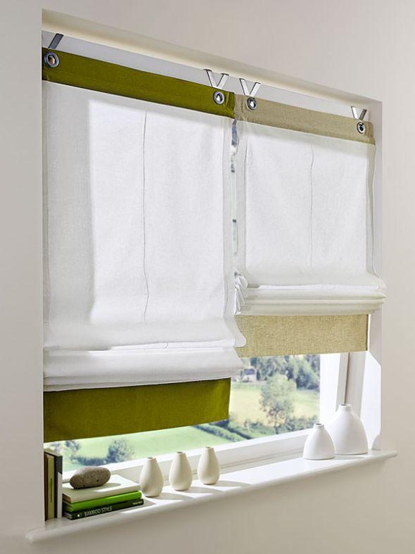 Schwierige Fenster schön gestalten Living rooms and Room