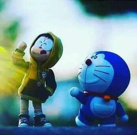 Boneka Doraemon and Nobita