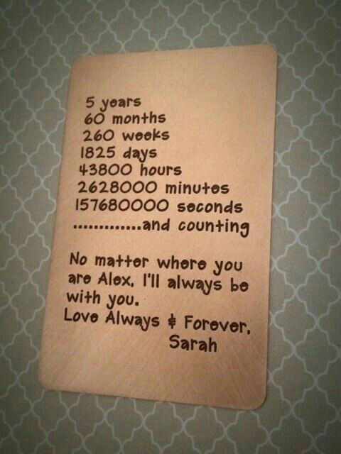 Great Wedding Gift For Husband: Love Always Forever