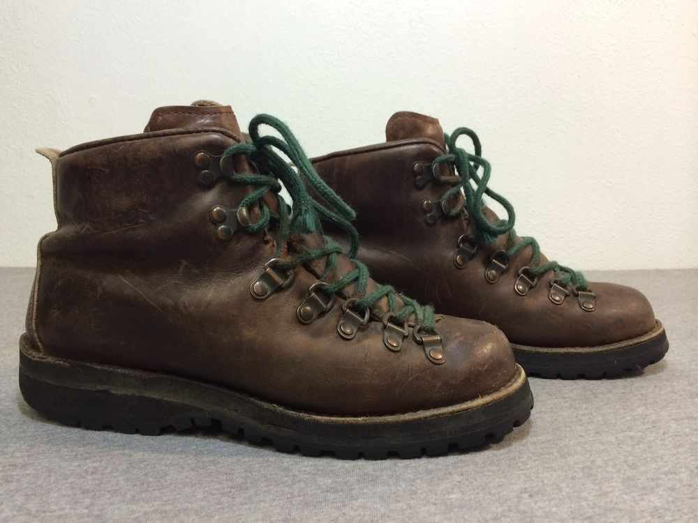 DANNER Boots MTN LIGHT II 30800 Brown Leather Gore-Tex Hiking USA ...