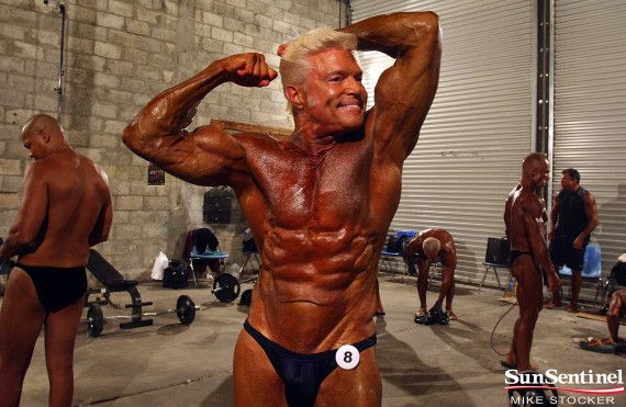 Mature body building