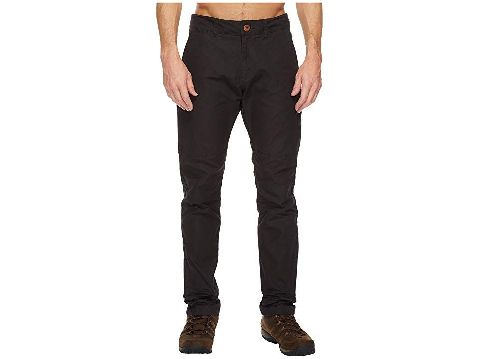 84004050e8173e Fjallraven Sormland Tapered Trousers (Dark Grey) Men's Casual Pants. Stay  patient and listen