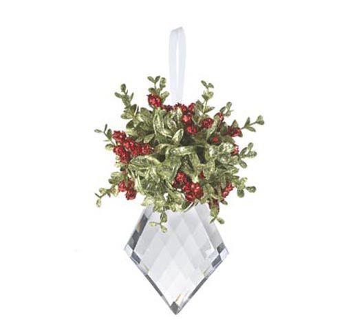 Kissing Krystal Large Ornament Diamond Products Pinterest