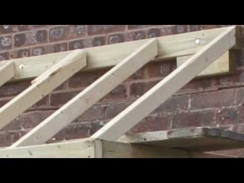 How To Do A Small Pitched Roof Pergola Patio Roof Pergola Designs