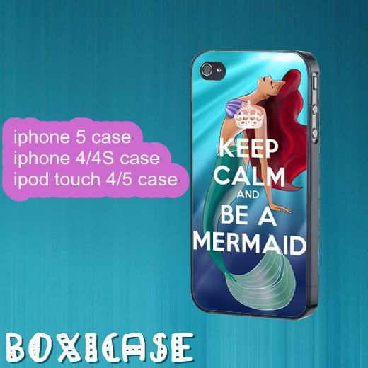 Ariel---iphone 4 case,iphone 5 case,ipod touch 4 case,ipod touch 5 case,in plastic,silicone and black,white. by Boxicase, $14.95