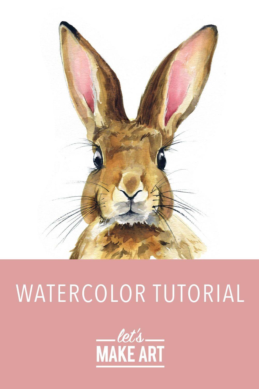 Rabbit Watercolor Kit In 2020 Bunny Watercolor Watercolor