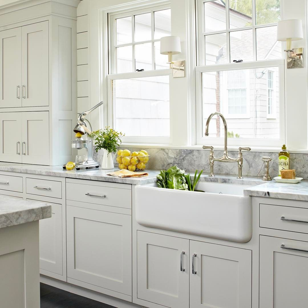 177 Likes 9 Comments Deane Inc Kitchens By Deane Kitchensbydeane On Instagram De Gray And White Kitchen White Kitchen Design Farmhouse Kitchen Cabinets