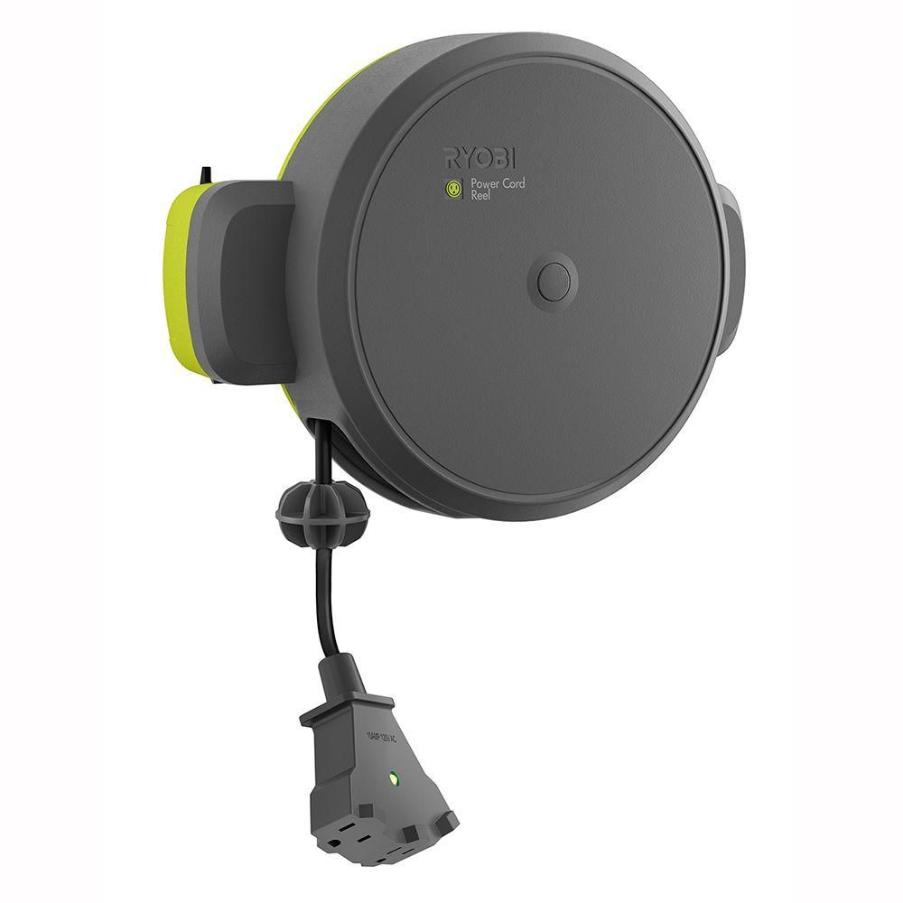 Ryobi Garage Retractable Cord Reel Accessory Gdm330 With Images