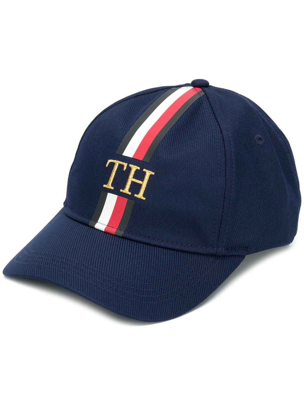 92f907e8dc574 TOMMY HILFIGER stripe detail baseball cap  53(Import duties included) One  Size available