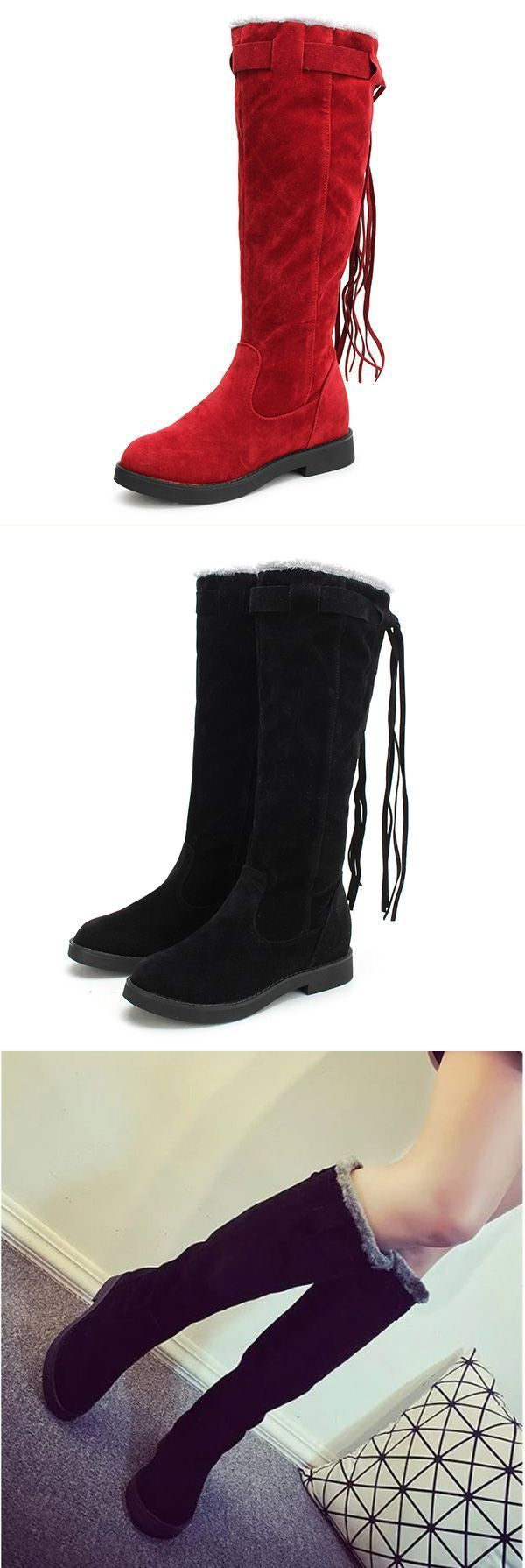 Winter Las Warm Over The Knee Boots Tels Round Toe Snow Brands Best Fashion Woman
