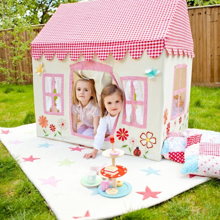 Primrose Cottage Play Tent  sc 1 st  Pinterest : girl play tents - memphite.com