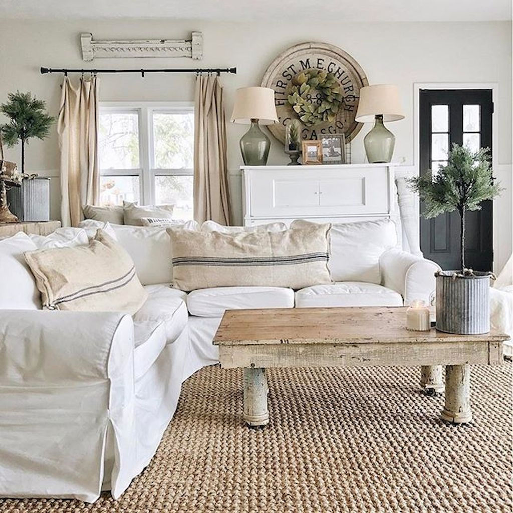 Gorgeous French Country Living Room Decor Ideas (19