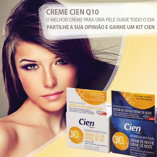 Amostras e Passatempos: Passatempo Creme Cien Q10 by LIDL..