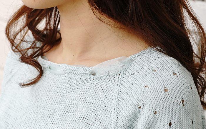 Ravelry: Lapin Girly Pullover pattern by Pierrot (Gosyo Co., Ltd ...
