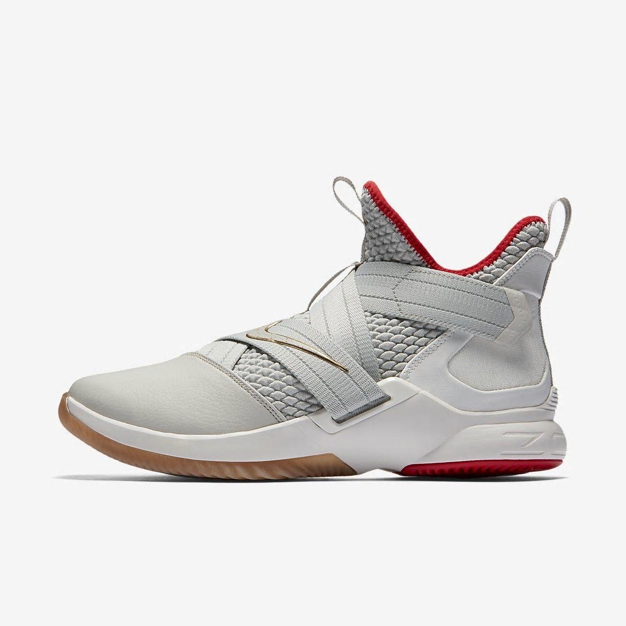 Nike LeBron Soldier XII Men s Light Bone  nike  nikemens  nikeshoes   nikelebron 85bae8d15
