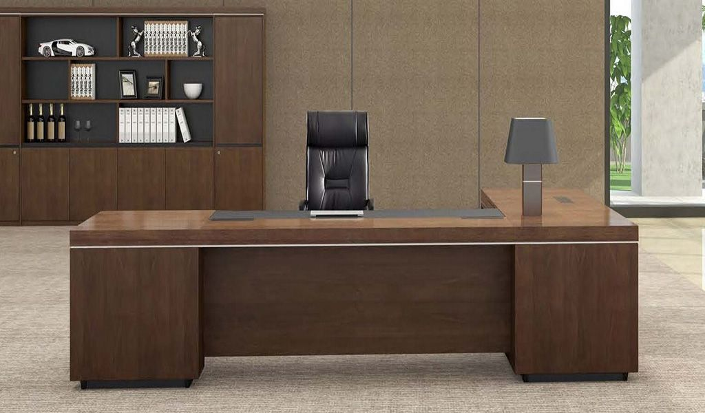Lexon L Shaped Office Table With Wireless Charger Home Office