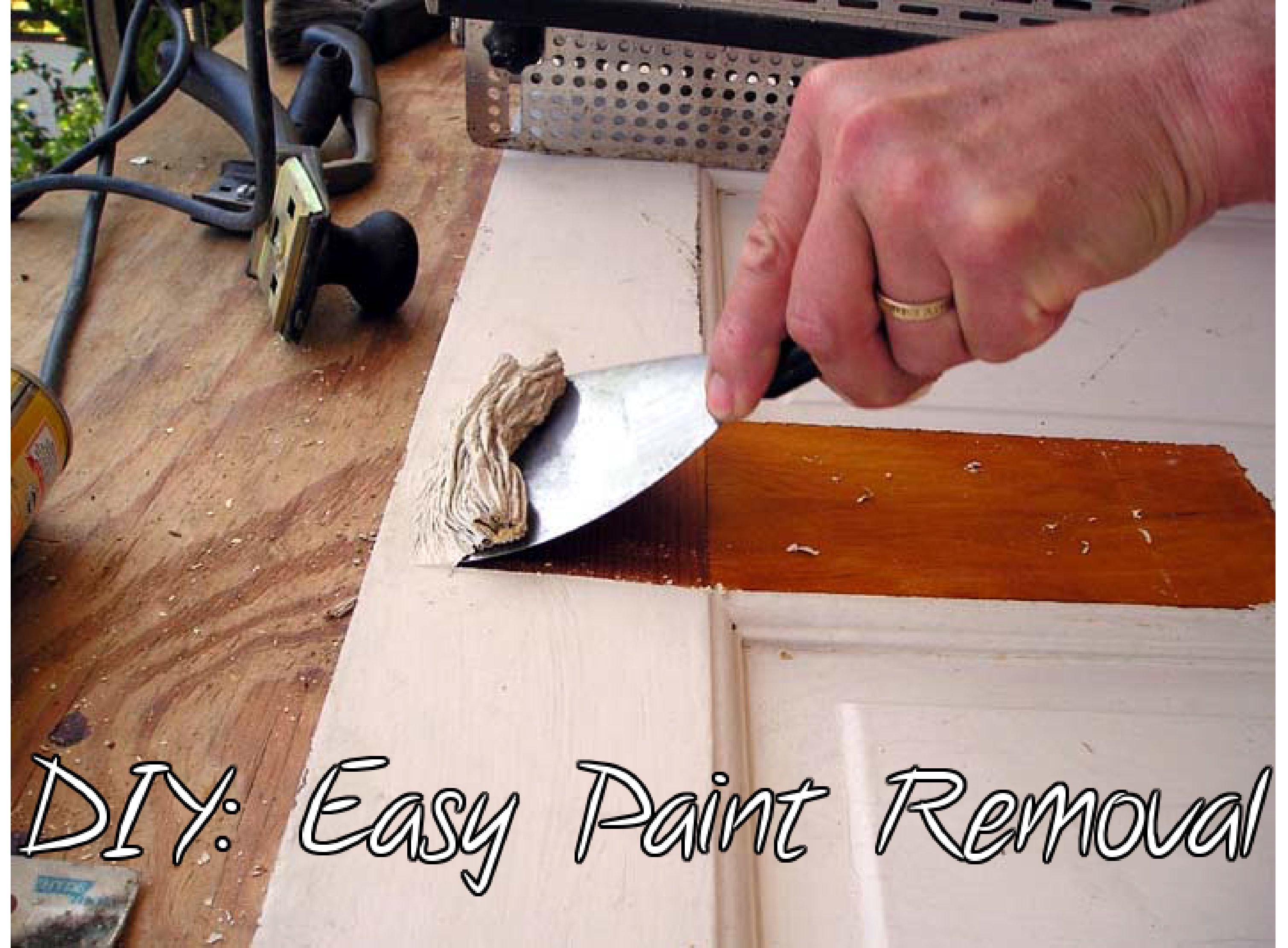 removal paint wood antique woodworking construction diy