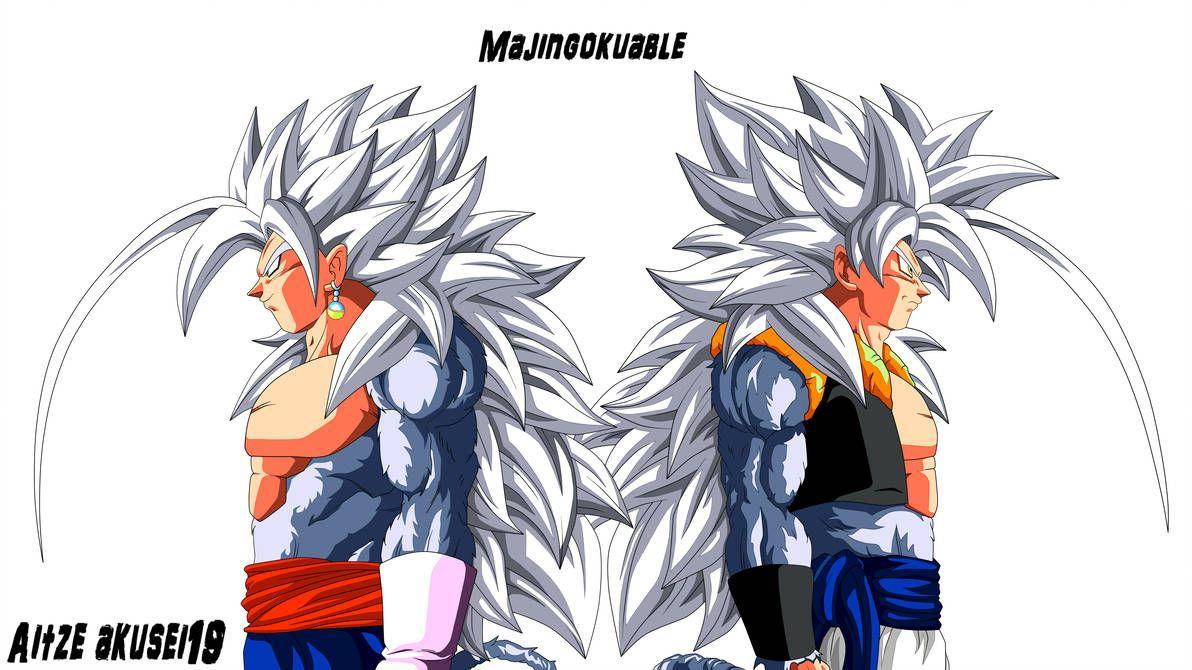 Gogeta Y Vegetto Ssj 5 By Aitze Akusei19 On Deviantart Dragon Ball Artwork Dragon Ball Tattoo Dragon Ball