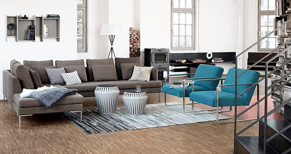 Modern Carlton sofas - Quality from BoConcept -i like the thin ...