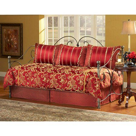 Crawford 5-Piece Daybed Set, Red