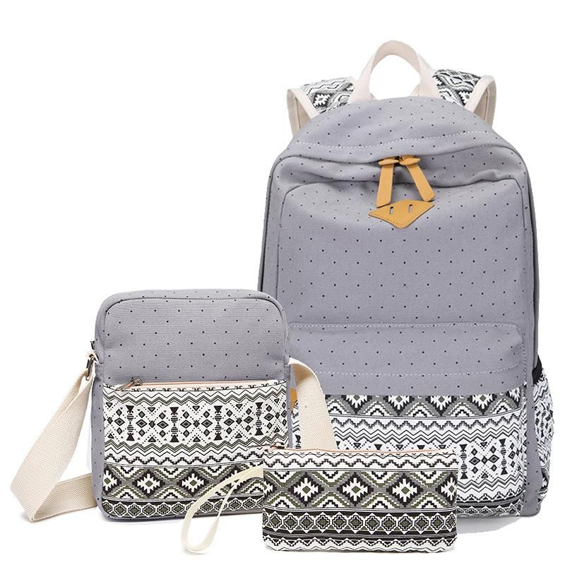 Vintage Girls School Bags for Teenagers girl Schoolbag Canvas Bag women  travel bags   Products   Pinterest   Backpacks, Bags and School bags 498e1328d3