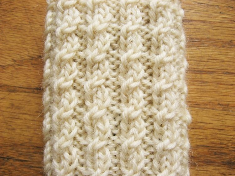 Twisted Cable Rib | Knitting and Crocheting (Mostly in Spanish ...