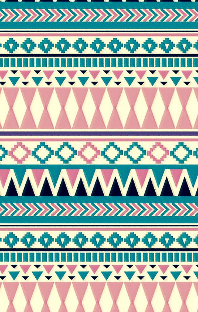 Aztec Print Wallpaper Things Papel De Pared Azteca