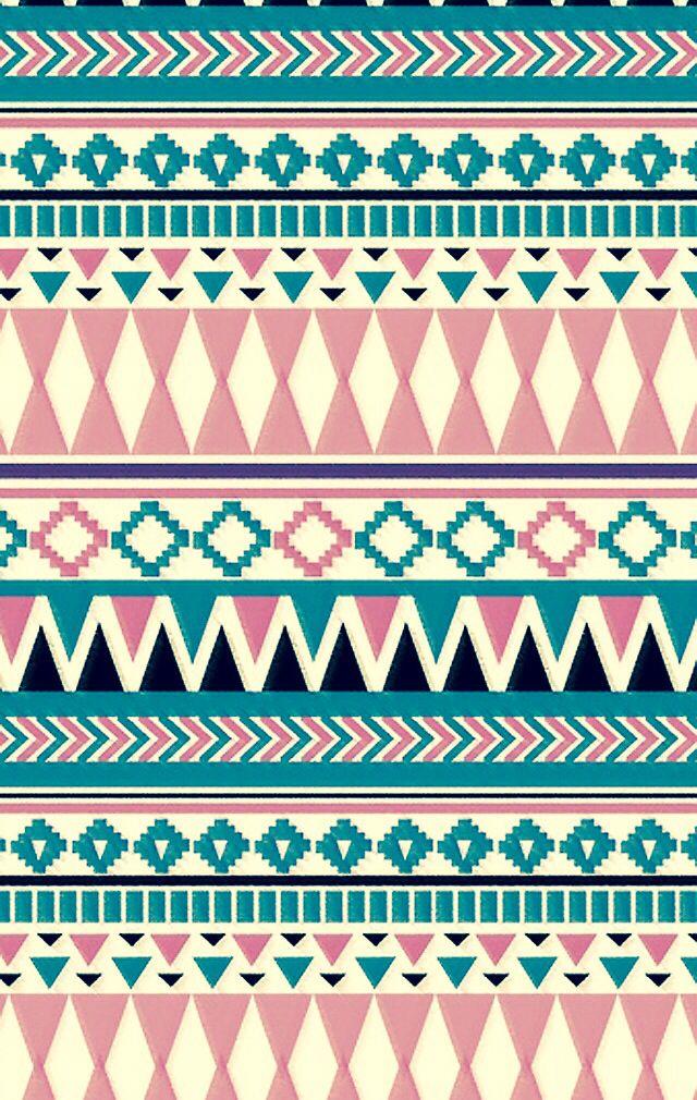 Pin By Hannah Garcia On Cute Phone Backgrounds Aztec Print Wallpaper Aztec Wallpaper Tribal Wallpaper
