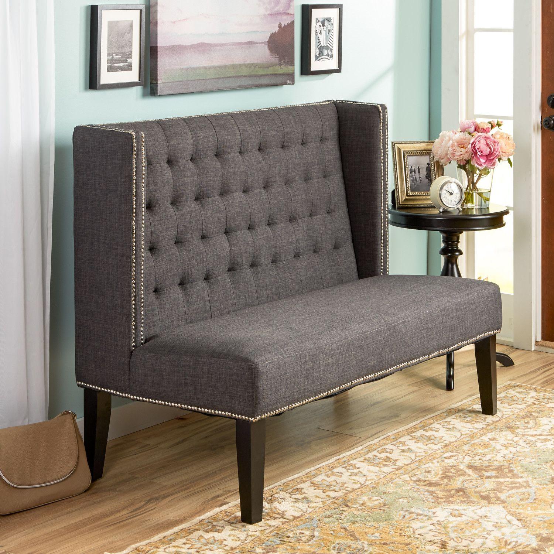 Esszimmer ideen mit spiegeln house of hampton upholstered bench  esszimmer  pinterest