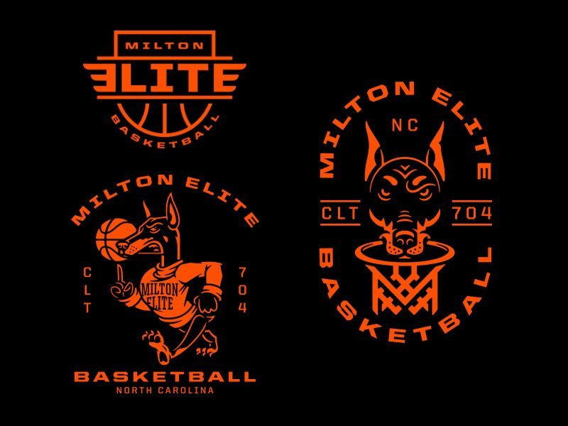 Milton Elite Basketball Basketball Basketball Design Love And Basketball