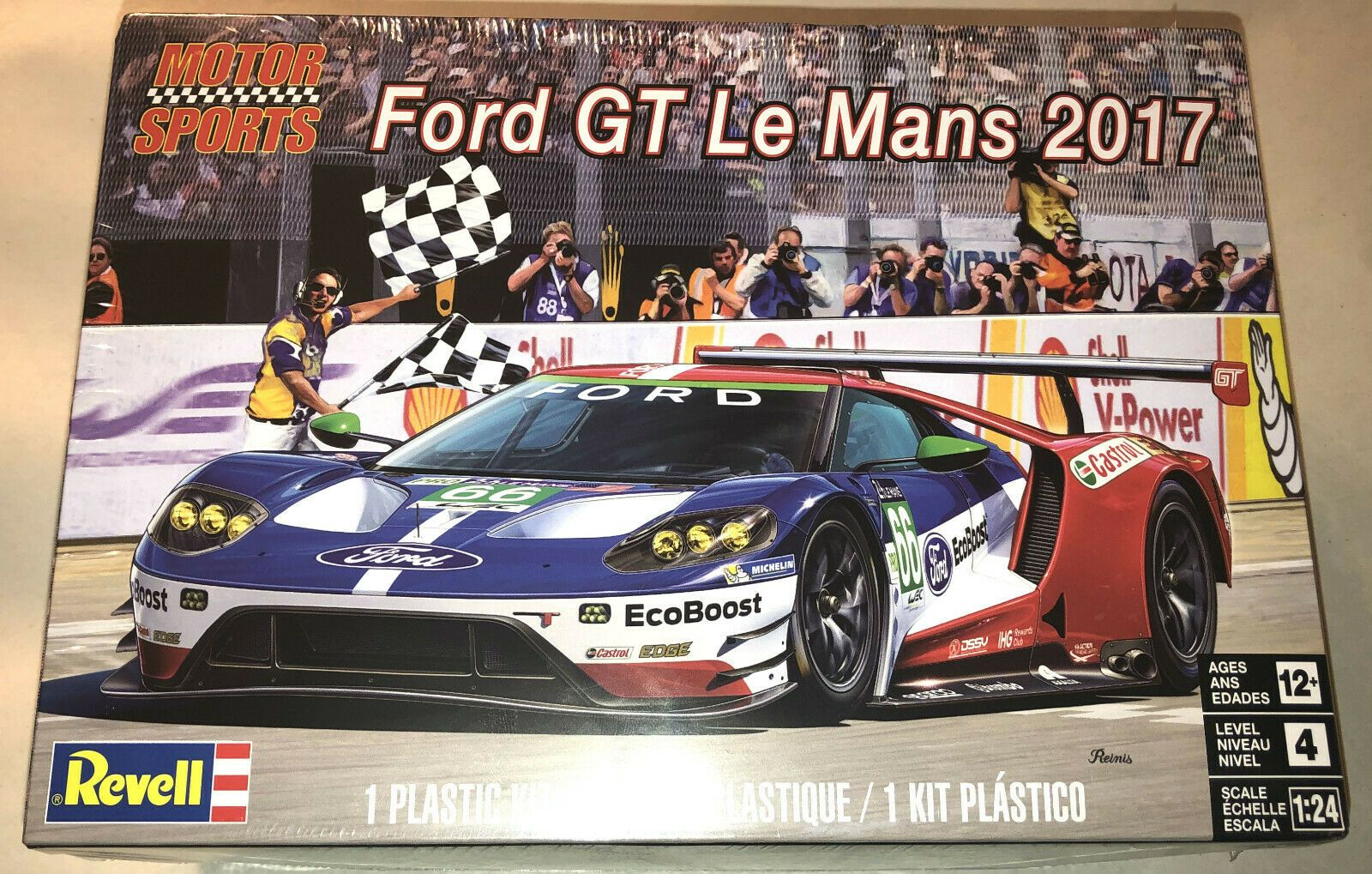 Details About Revell Ford Gt Le Mans 2017 1 24 Scale Plastic Model Kit New 4418 Ford Gt Ford Gt Le Mans Plastic Model Kits
