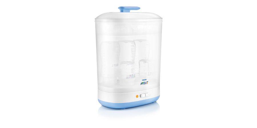 AVENT Electric Steam Sterilizer SCF922 Check more at https://red-dot-21.com/p/design-products/babies-toddlers/equipment/avent-electric-steam-sterilizer-scf922/