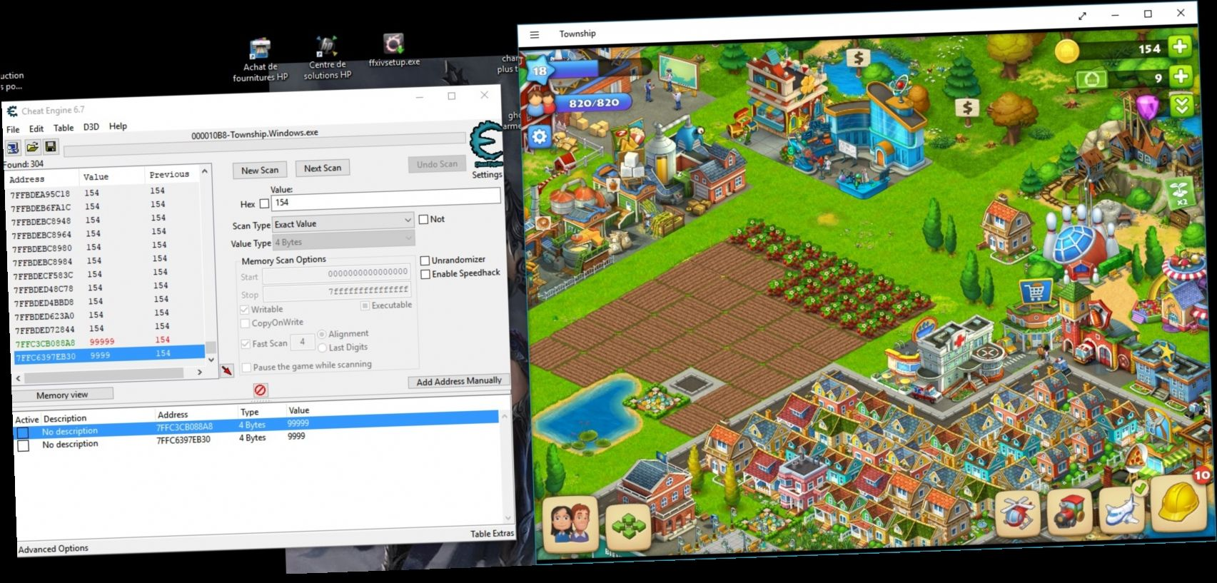 township cheat engine not working в 2020 г