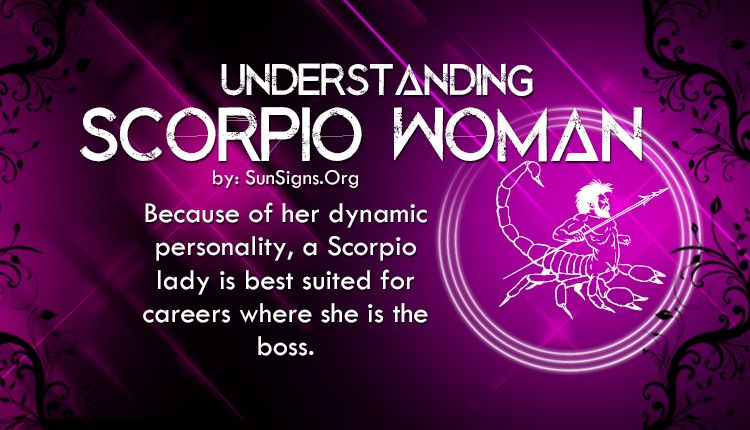 A Scorpio woman determines who her friends are carefully, as she is a secretive person and distrustful until she gets to know you. Description from sunsigns.org. I searched for this on bing.com/images