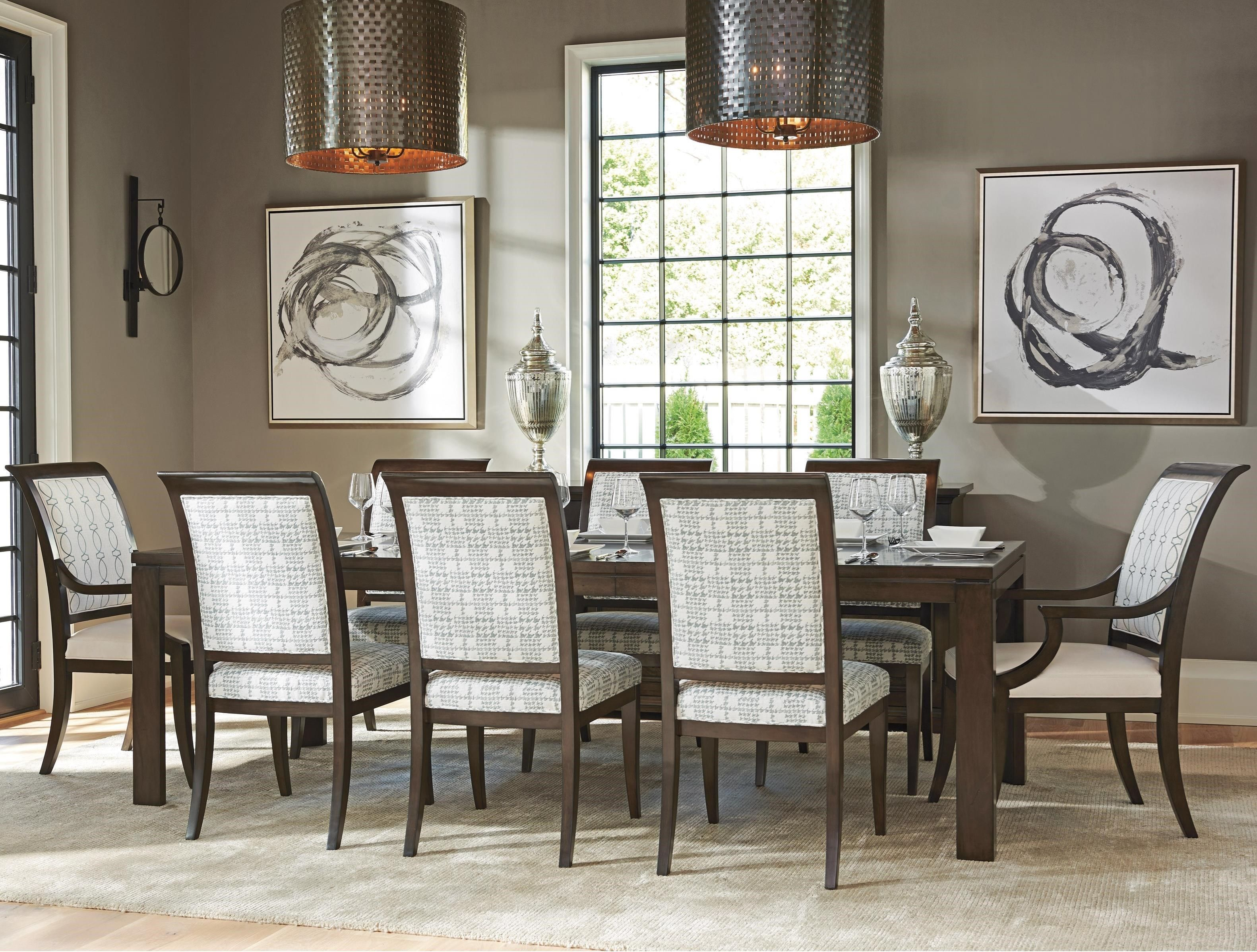 Brentwood 9 Pc Dining Set By Barclay Butera At Baer S Furniture