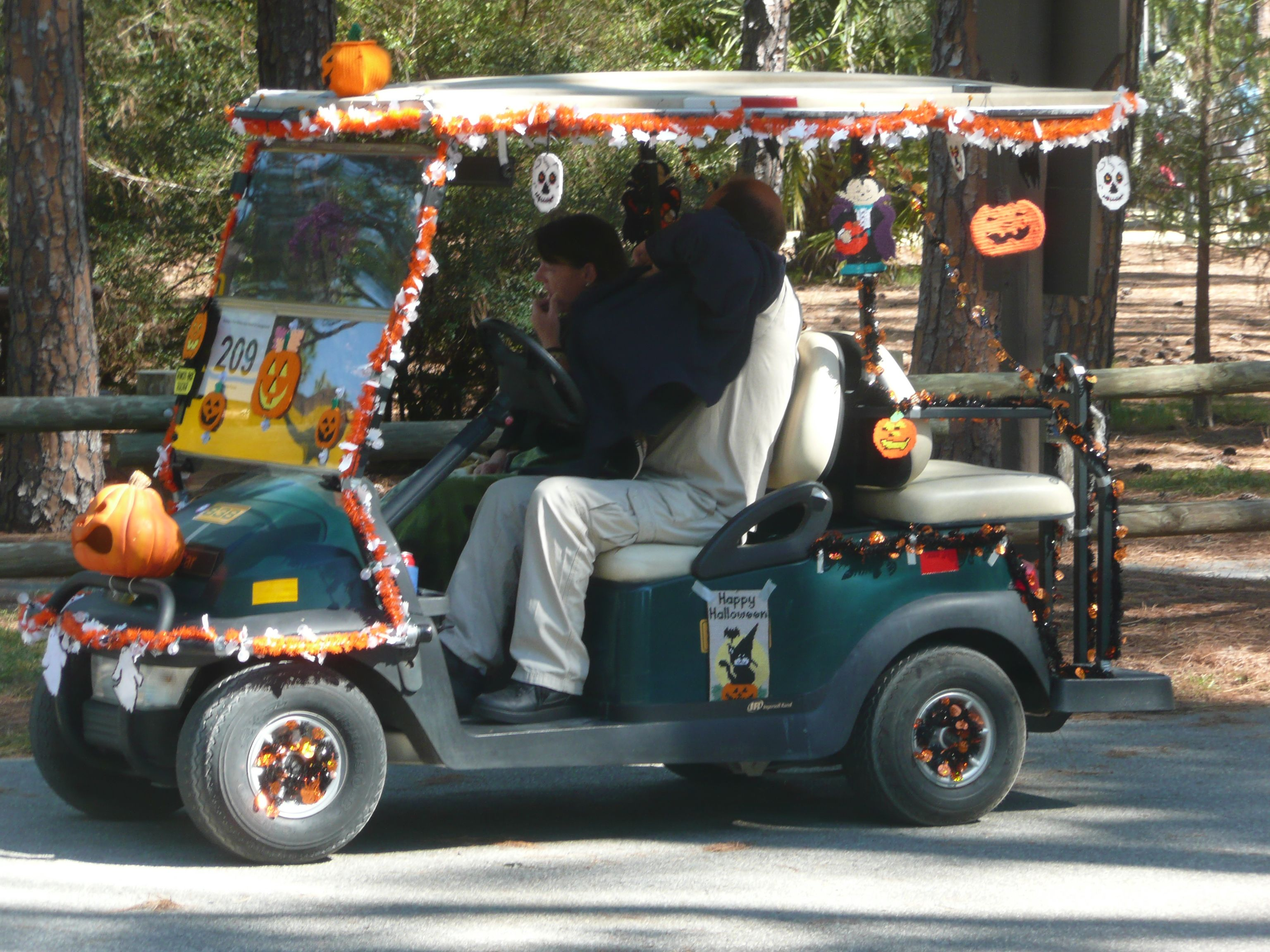 Fort Wilderness Golf Cart Race